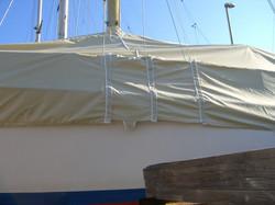 Copertura Barca vela Laterale