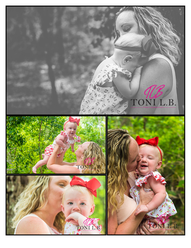 Miss 'M' turns 6 months | Family Session | Mommy & Me