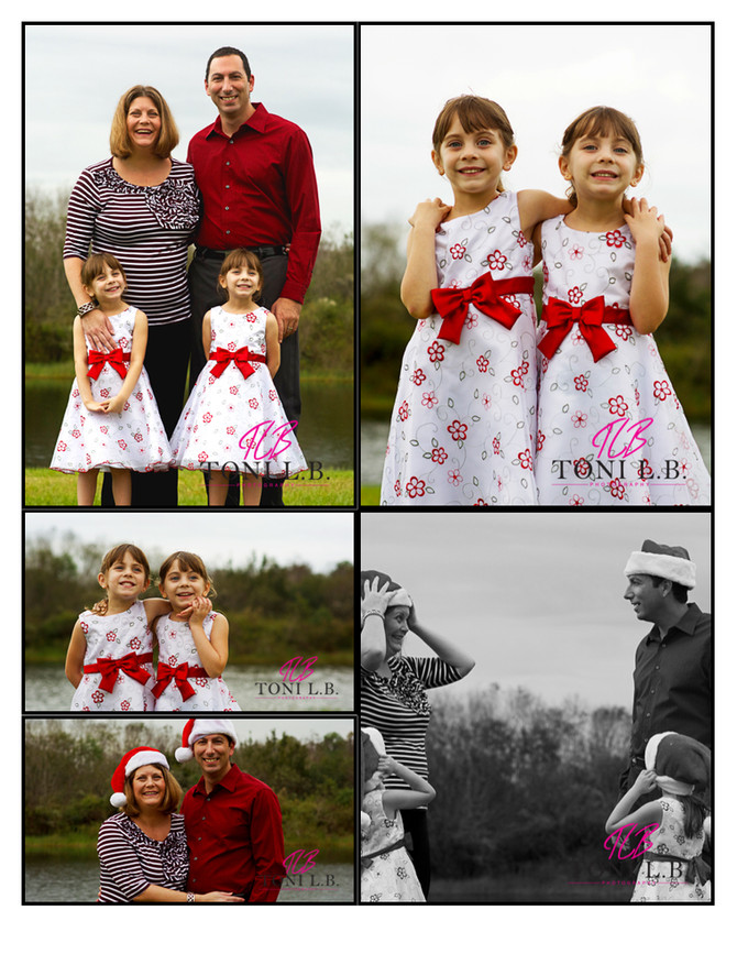 The T Family|Christmas Mini-Session 2015