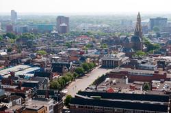 Groningen centrum vanaf Martinitoren-6