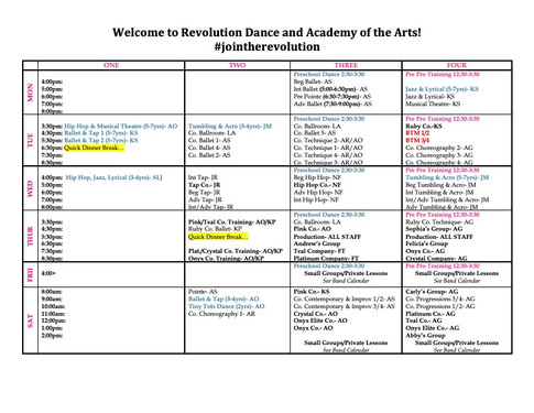 21-22 Season Schedule