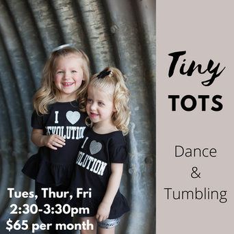 Tiny Tots Dance and Tumbling