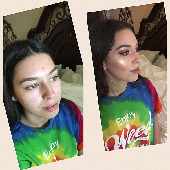 Makeup by our artist Niko