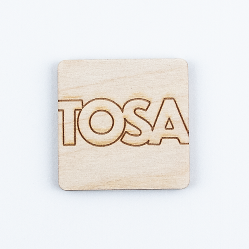 Wood TOSA Magnet by The Middle Shore