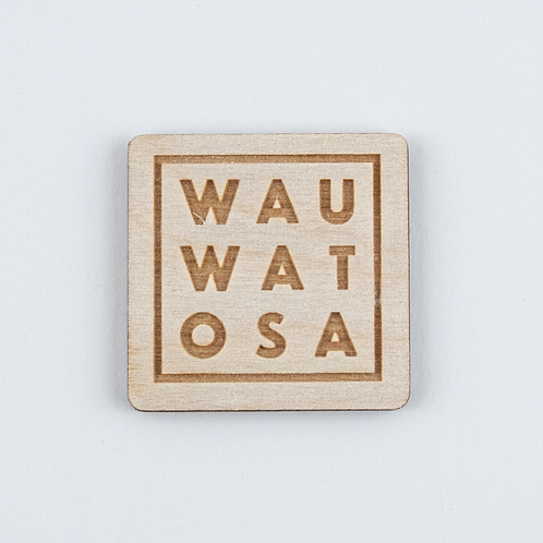 Wood Wauwatosa Magnet by The Middle Shore