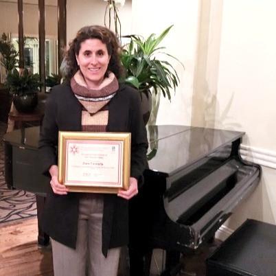 Soroptimist International Award for Excellent Service Helping Women