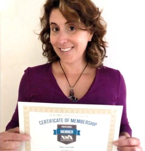 Certified Member, National Speakers Association