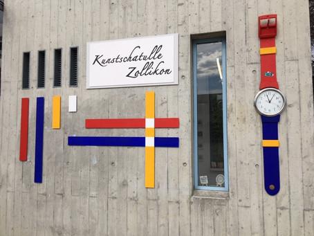 Zentangle®-Ausstellung in der Kunstschatulle Zollikon