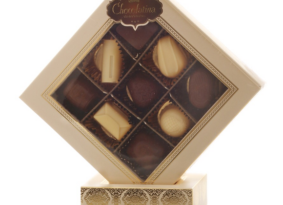 Chocolatina Praline 9 Piece Gift Box