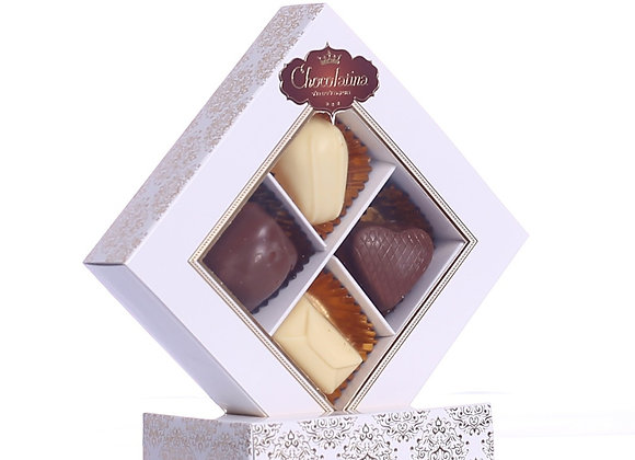 Chocolatina Praline 4 Piece Gift Box