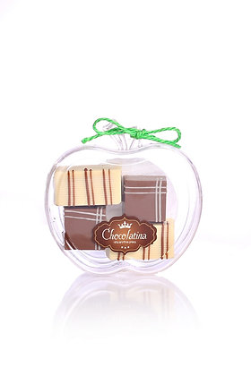 Chocolatina Apple 4 pralines Gift box