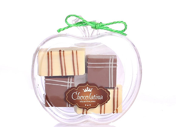 Chocolatina Apple 4 pralines Gift box