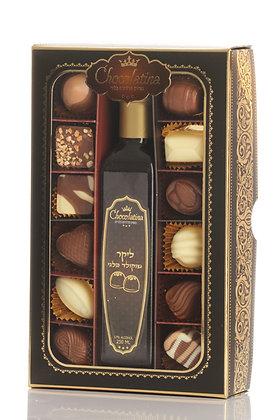 Chocolatina 12 praline +belgium chocolate liquor