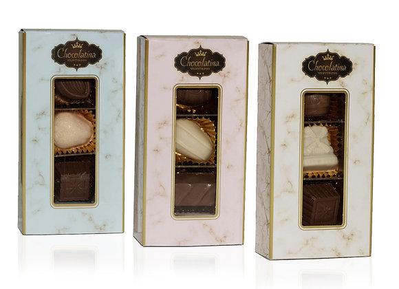 Chocolatina Praline 3 Piece Gift Box