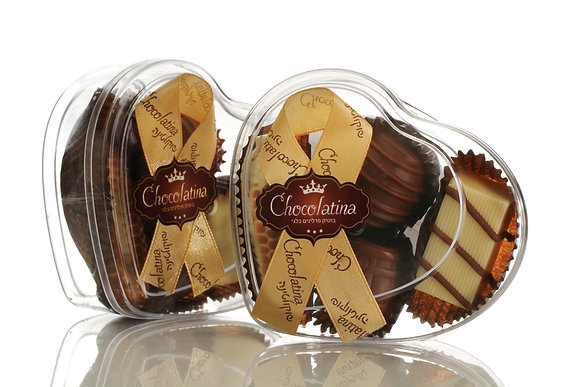Chocolatina Praline 4 Piece Heart Gift Box