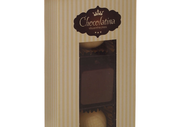 Chocolatina Praline 3 Piece Gift Box