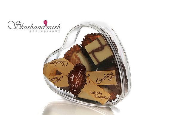 Chocolatina Praline 5 Piece Heart Gift Box