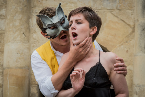 Don Giovanni (Jerome Knox) and Donna Anna