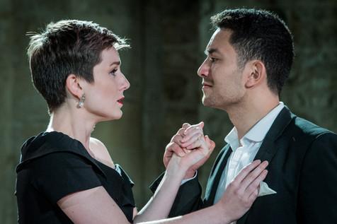 Donna Anna and Don Ottavio (Benjamin Durrant)