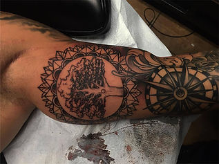Tree Of Life Mandala Tattoo