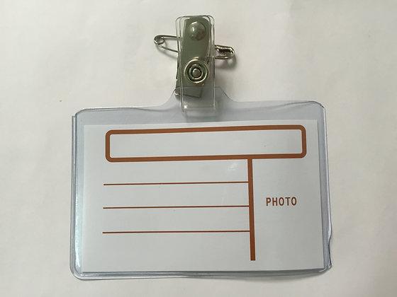 Alpha Omega Name Card 軟身工作證連夾 (NB1)
