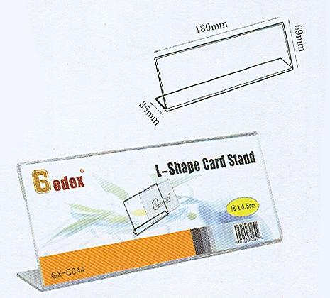 Godex L-shape card stand 直身 L 架