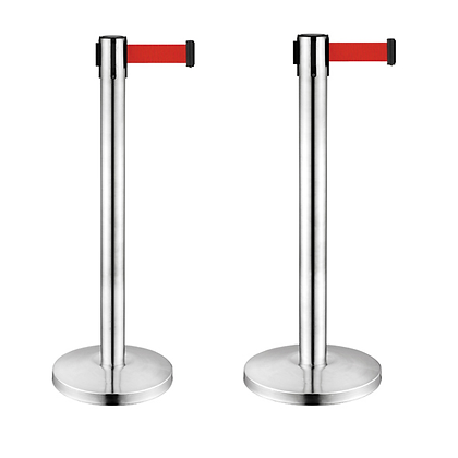Retractable Belt Barrier 伸縮欄杆 (不銹鋼)