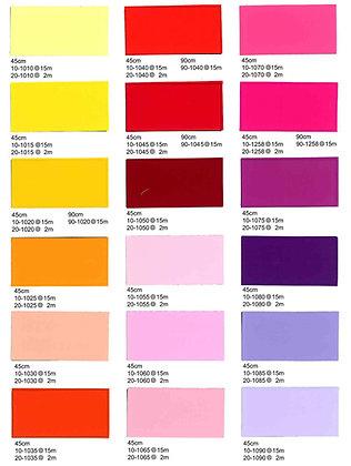 Easy-fix Matte Colour Adhesive Film 純色系列啞面地圖膠