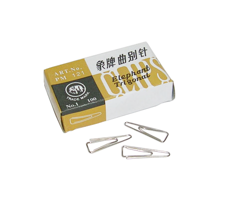 ELEPHANT paper  clip 象牌三角型萬字夾 (121)