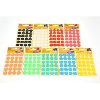 Color label 圓形彩色標籤貼紙