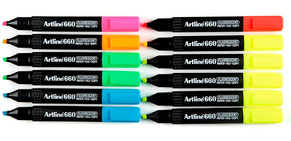 Artline 660 Highlighter 螢光筆