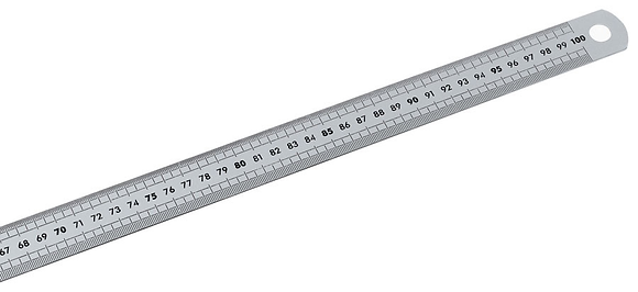 Steel Ruler 鋼尺