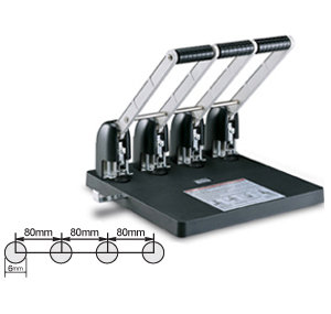 KW-Trio HEAVY DUTY 4-hole punch 4吼打吼機 (KW954)