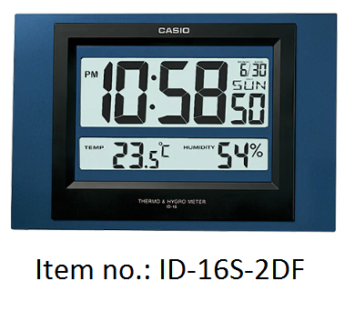 Casio Wall Clocks 掛牆電子鐘