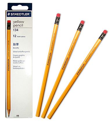 STAEDTLER Pencil 施德樓HB黃桿鉛筆