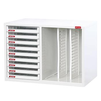 A4X桌上型樹德櫃 (9抽 )(A4X-109P2V)