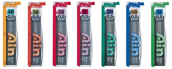 Pentel Lead Refill 0.5mm 鉛芯
