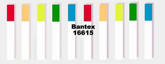 Bantex Sticky Notes 雙色膠質長條形幼身旗仔