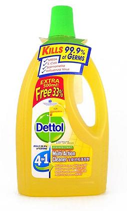 Dettol 4 in 1 Floor Cleaner 滴露地板清潔劑