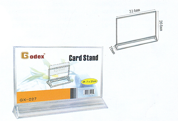 Y-shape card stand Y型咭座