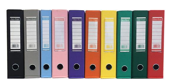 Database PVC Box file 顏色包膠硬皮快勞