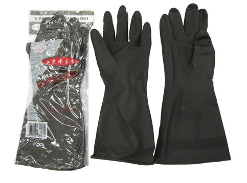 Industrial Gloves 黑色膠手套 (GLOVES04)
