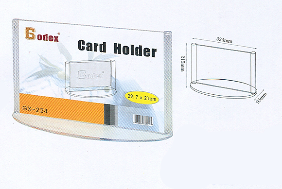Godex Round base card stand 圓底型咭座
