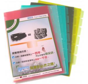 multi layer plastic folder多層膠文件套A4/F4