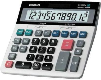 Casio DS-120TV Calculator 計算機