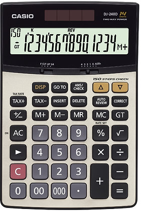 Casio DJ-240 Calculator 計算機