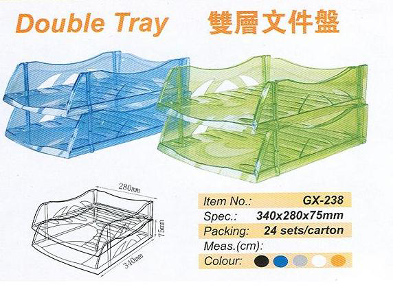 A4 Godex tray 透明色文件托盤(GX-138W)