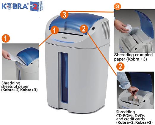 KOBRA +3 CC4 (3.5x40mm) shredder 雙刀頭三功能碎紙機