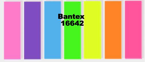 Bantex Sticky Notes 七色膠質長條形旗仔