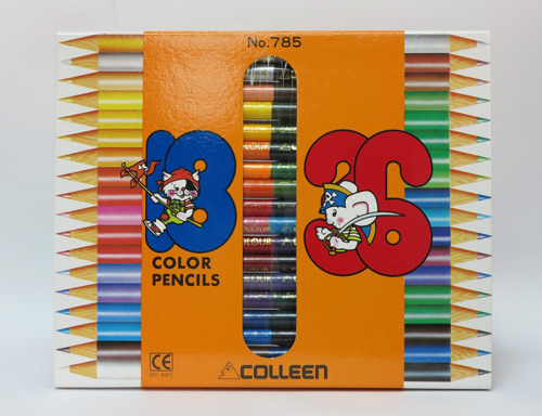 Colleen Color Pencil 木顏色